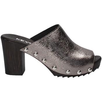 Sapatos Mulher Chinelos Keys 5868 Cinzento