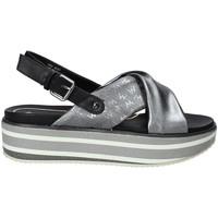 Sapatos Mulher Sandálias Wrangler WL91615A Cinzento