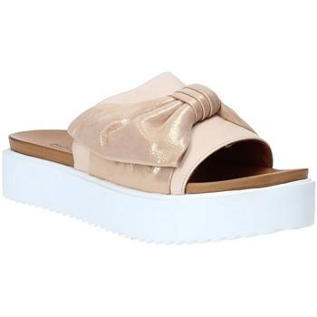 Sapatos Mulher Chinelos Grunland CI1519 Rosa