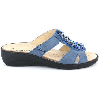 Sapatos Mulher Chinelos Grunland CE0710 Azul
