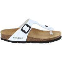 Sapatos Criança Chinelos Grunland CB0926 Branco