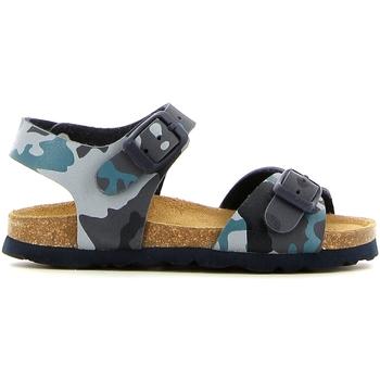 Sapatos Rapariga Sandálias Grunland SB0169 Azul