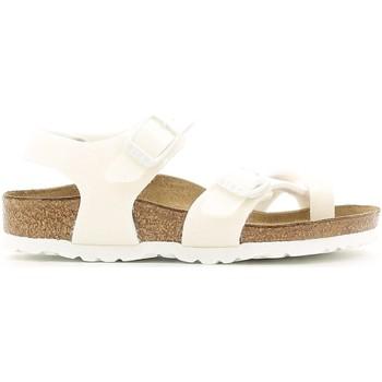 Sapatos Rapariga Sandálias Birkenstock 371593 Branco