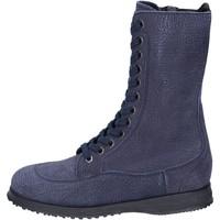 Sapatos Mulher Botins Hogan BK692 Azul