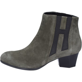 Sapatos Mulher Botins Hogan BK698 Verde