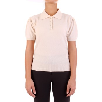 Textil Mulher Polos mangas curta Vicolo 2218W Bege