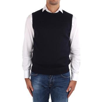Textil Homem Casacos de malha La Fileria 14290 55168 Azul