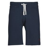 Textil Homem Shorts / Bermudas U.S Polo Assn. TRICOLOR SHORT FLEECE Azul
