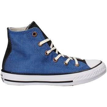 Sapatos Criança Sapatilhas de cano-alto Converse 659965C Azul