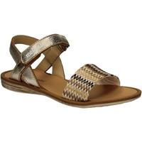 Sapatos Rapariga Sandálias Melania ME4074D7E.E Amarelo
