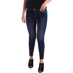 Textil Mulher Calças de ganga Gas 355652 Azul