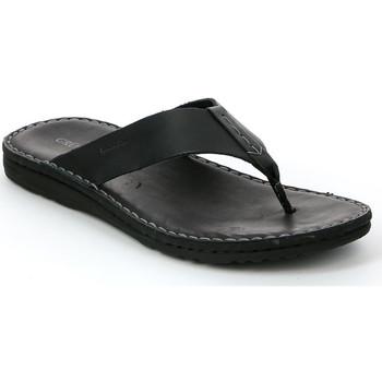 Sapatos Homem Chinelos Grunland CI1153 Preto