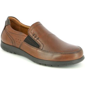 Sapatos Homem Mocassins Grunland SC4449 Castanho