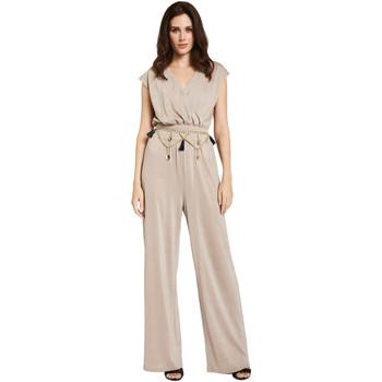 Textil Mulher Macacões/ Jardineiras Gaudi 011FD24001 Bege
