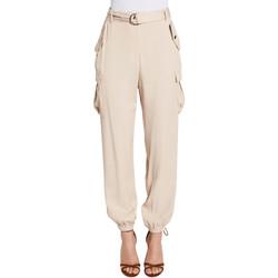 Textil Mulher Calça com bolsos Gaudi 011FD25018 Bege
