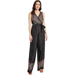 Textil Mulher Macacões/ Jardineiras Gaudi 011FD25027 Preto