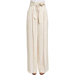 Textil Mulher Calças finas / Sarouels Gaudi 011FD25029 Bege