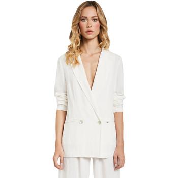 Textil Mulher Casacos/Blazers Gaudi 011FD35012 Branco