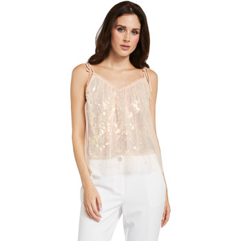 Textil Mulher Tops / Blusas Gaudi 011FD45036 Rosa