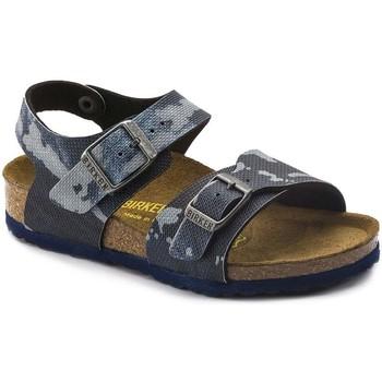 Sapatos Rapaz Sandálias Birkenstock 1004917 Azul