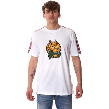 Textil Homem T-Shirt mangas curtas Sprayground 20SP032WHT Branco