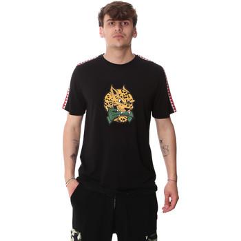 Textil Homem T-Shirt mangas curtas Sprayground 20SP032BLK Preto