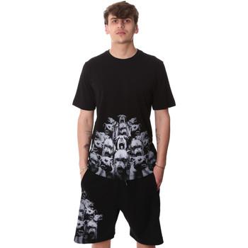 Textil Homem T-Shirt mangas curtas Sprayground 20SP012 Preto