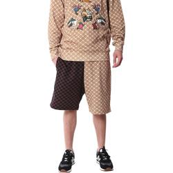 Textil Homem Shorts / Bermudas Sprayground 20SP029 Castanho