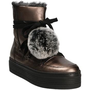 Sapatos Mulher Botas de neve Mally 5991 Cinzento