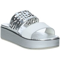 Sapatos Mulher Chinelos Susimoda 183325-02 Prata