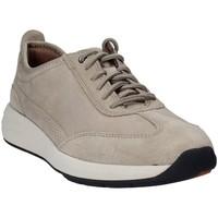 Sapatos Homem Sapatilhas Clarks 133350 Cinzento