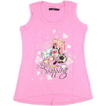 Textil Mulher Tops sem mangas Key Up S88Z 0001 Rosa