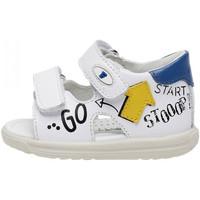 Sapatos Criança Sandálias Falcotto 1500830 01 Branco