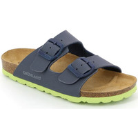 Sapatos Criança Chinelos Grunland CB1537 Azul