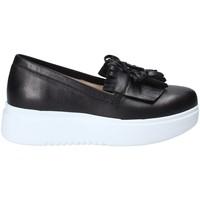 Sapatos Mulher Slip on Exton E01 Preto