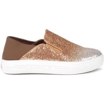 Sapatos Mulher Slip on Fornarina PE17YM1002V096 Ouro