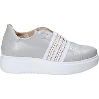 Sapatos Mulher Slip on Exton E05 Cinzento