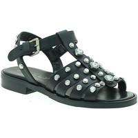 Sapatos Mulher Sandálias Mally 6134 Preto