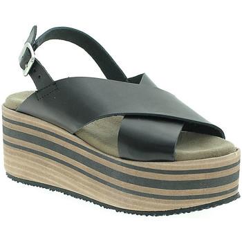Sapatos Mulher Sandálias Pregunta IBH5803 Preto