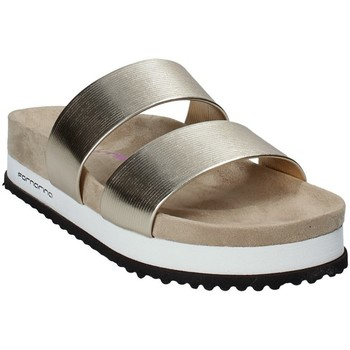 Sapatos Mulher Chinelos Fornarina PE18SA2913 Amarelo