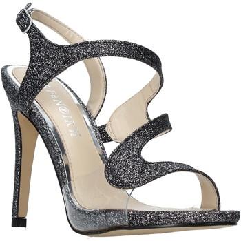 Sapatos Mulher Sandálias Café Noir ND931 Cinzento