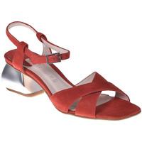 Sapatos Mulher Sandálias Café Noir ME571 Vermelho