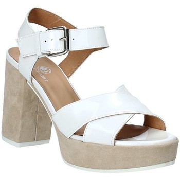 Sapatos Mulher Sandálias Janet Sport 43883 Branco