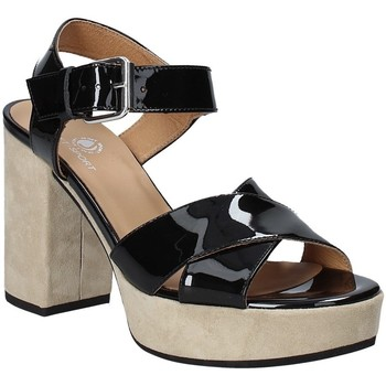 Sapatos Mulher Sandálias Janet Sport 43883 Preto