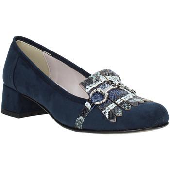 Sapatos Mulher Mocassins Grace Shoes 171002 Azul