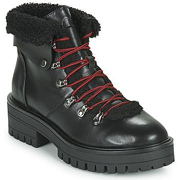 Sapatos Mulher Botas baixas Emmshu ESIDAVER Preto