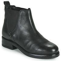 Sapatos Mulher Botas baixas Musse & Cloud PRITI Preto