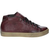 Sapatos Homem Sapatilhas de cano-alto Exton 481 Vermelho