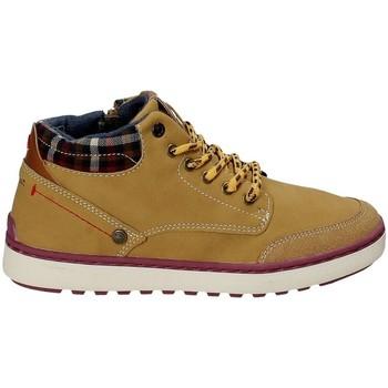 Sapatos Criança Sapatilhas de cano-alto Wrangler WJ17219 Amarelo