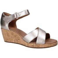 Sapatos Mulher Sandálias Clarks 132325 Cinzento